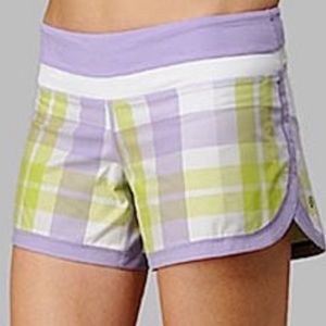 Lululemon Groovy Run Athletic Shorts: Lilac Multi